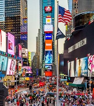 fazer um intercâmbio em Nova Yorque