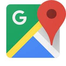 aplicativo de viagem google maps