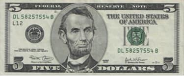 Cédula 5 dólares