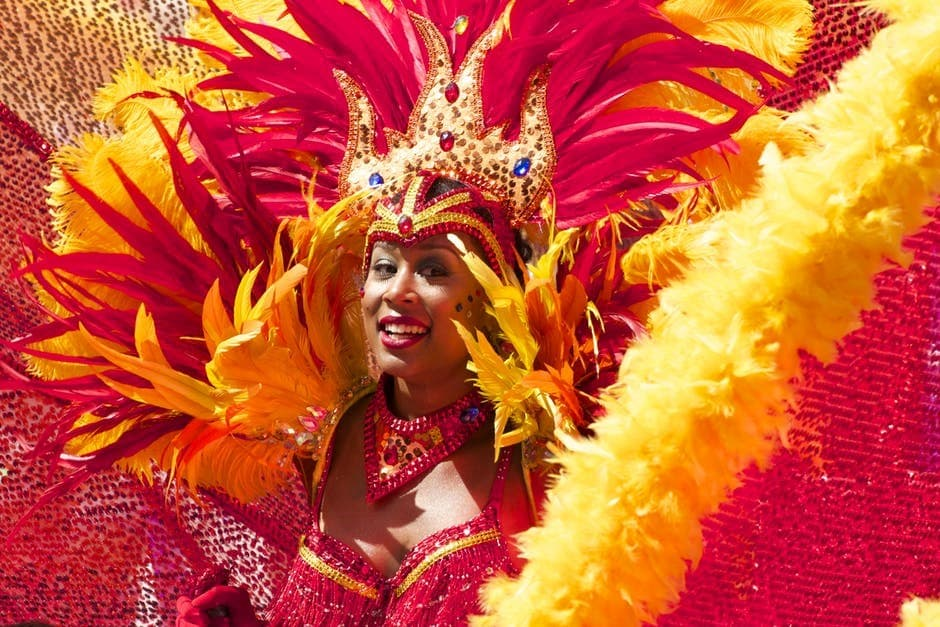 curtir o carnaval