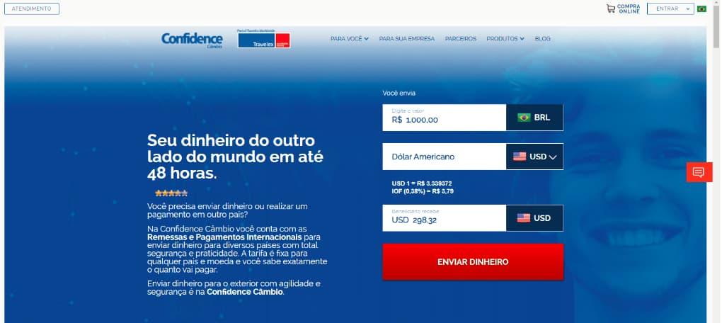 enviar dinheiro para Portugal