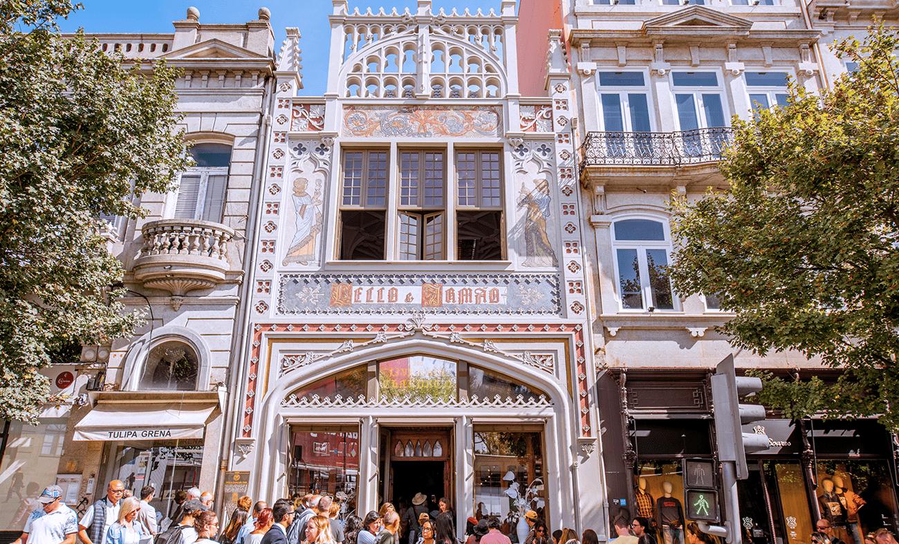 livraria lello portugal