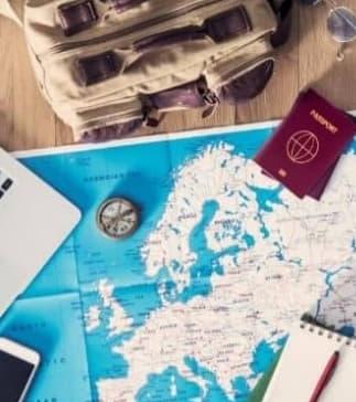 primeira viagem internacional