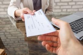 cheque internacional