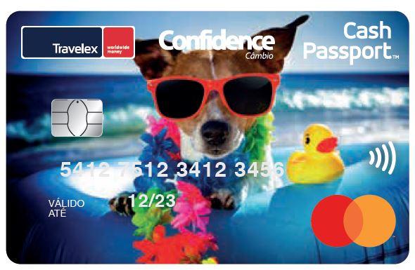 Cartão pré-pago temático para quem ama pet
