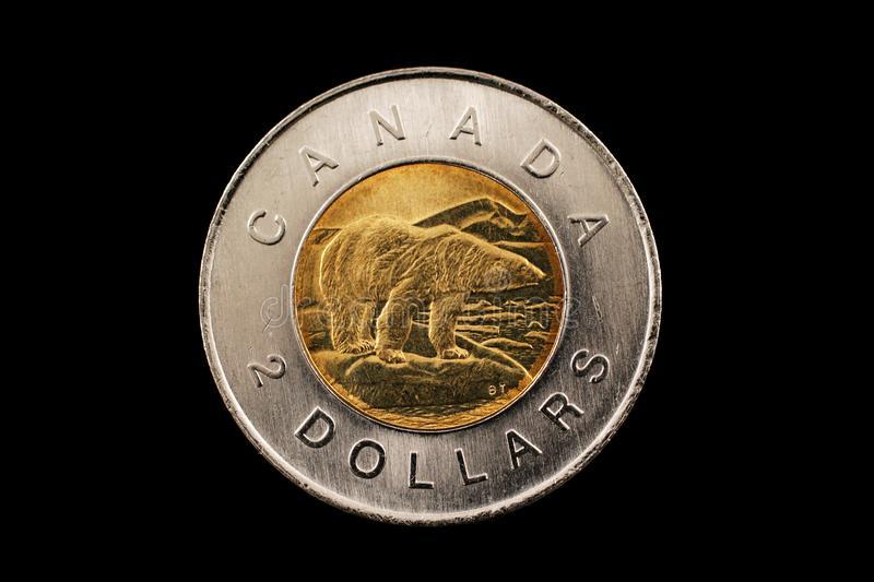 2 dólares canadenses